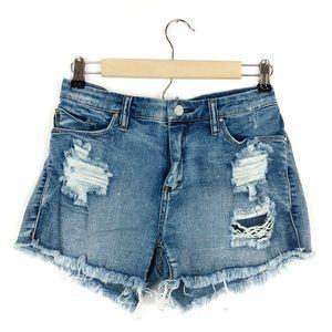 BlankNYC Denim Cut Off Daisy Dukes Shorts